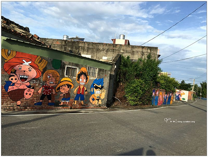 彰化西瓜彩繪村